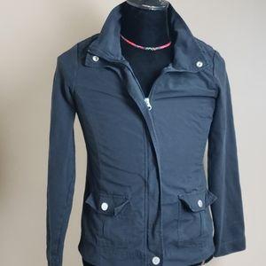 Croft & Barrow jacket Sz S Black lightweight